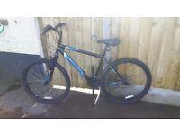 Muddyfox shout mountain bike with front suspension