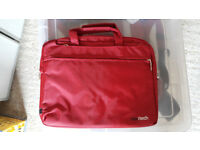Navitech Red 11.6-Inch Laptop / Notebook / Ultrabook Case / Bag