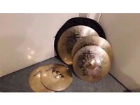 Zultan Rock Beat Profi Cymbal Set - Collection Only.