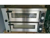 Lincat double professional pizza oven