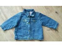 OshKosh girls denim jacket age 18 mths