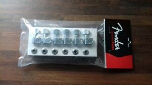 Fender telecaster staggered tuners