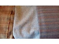 BEAUTIFUL TWEED, PURE NEW WOOL, three pieces