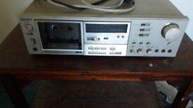 vintage Sony casette deck TC K75