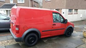 FORD TRANSIT CONNECT T200 (RED) 56 PLATE 1.8 TDCi WITH SIDE DOOR - EX POST OFFICE VAN