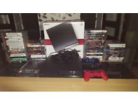 Ps3 console with 59 games