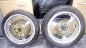 Suzuki GSX 600 F wheels
