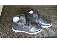 Grey boots UK size 9
