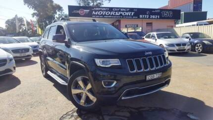 2013 Jeep Grand Cherokee Limited Auto 4x4 MY14