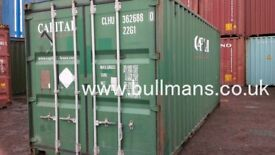 20ft second hand shipping containers - CSC plated, steel container, storage container for sale