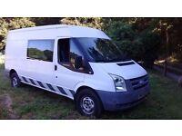 Ford Transit 2.4 TDCi 350 LWB Medium Roof Van , Welfare, Mess Unit , 8 Seats