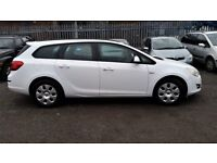 2012 (62) Vauxhall Astra 1.7 CDTi ecoFLEX 16v Exclusiv 5dr (start/stop) £30 Tax/Year.