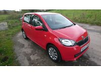 '64 Skoda Citigo 1.0 MPI SE 5dr only 14.000 miles, like new!