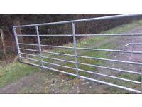 12 foot 7 bar farm gate