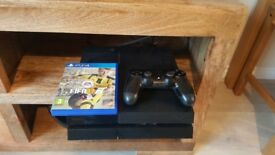 Playstation 4 with FIFA18