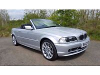 2003 *03* BMW E46 318i Convertible *YEARS MOT*LOW MILES*SERVICE HISTORY*BEAUTIFUL THROUGHOUT