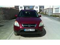 Honda CR-V MOT to 27th Aug