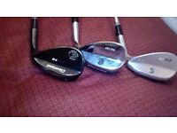 Golf Clubs - Cleavland Golf Wedges - 54 degrees, 56 and 60 degrees - £45 only - PLUS extra club