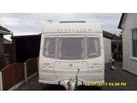 4 berth avondale 545 mayfair 2006 touring caravan