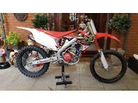 Honda CRF250R CRF 250 Motocross/Enduro Road registered Not EXCF, KXF, RMZ, YZF
