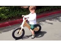 Early Rider Balance Bike Classic Wood and Leather £50