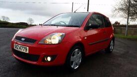 *!*BARGAIN*!* December 2006 Ford Fiesta 1.25 Zetec **FULL YEARS MOT** **SERVICE HISTORY** *2 OWNERS*