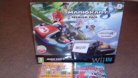 Wii U Premium Mario Kart 8 + 6 Games + 10 months Guarantee