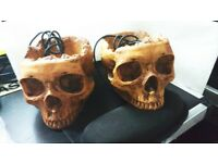 Usb hub 2.0. Novelty Skull. 4 ports on both hubs.