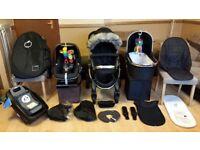 iCandy Peach 3 Pushchair Pram Stroller Travel System Maxi Cosi Pebble Car Seat, Isofix Base & More