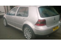 VW GOLF GT TDI 6 SPEED 2003 LOW MILES PART EXC TO CLEAR