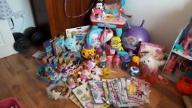 Bundle toys ideaal for girls