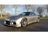 500HP RX7 FOR SALE OR SWAP. MASSIVE SPEC, ONE OF CLEANEST IN UK. MAY SWAP FOR GTR M5 ----NOW REDUCED