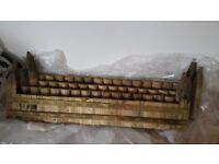 Log panel border edges
