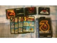 Sega Mega Drive Mortal Kombat Collection I/II/III