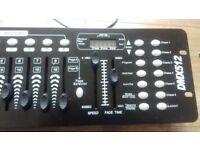 Light controller dmx512