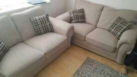 Two Wilcot Beige Sofa's