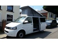 VW T5 Campervan. Excellent condition. Ready to go with Gas Bottle in place.