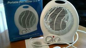 Fan heater portable