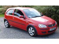 2005 Vauxhall Corsa cdti 1.3 diesel, fsh long MOT very good condition