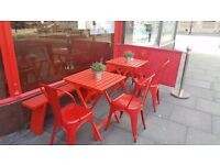A set of brand new Cafe Barriers and Banners for sale
