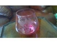 Ruby wedding commemorative bowl