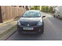 Renault Clio 1.5 dci Initiale 5 door, black, 6 speed gear box, leather interior