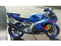 Kawasaki zx9 redbull