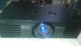 fully working order tv projector panasonic no pt-ae 3000e ready to go