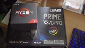 RYZEN 1700X/ASUS PRIME X370/16GB DDR4