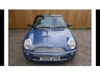 Blue Mini convertible!!!!