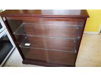 Display cabinet £50