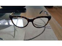 Alexander Mcqueen Havana glasses frame