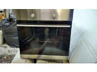 Logik Built in Oven in good working order BUT middle glass broken