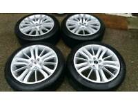 LAND ROVER RANGE ROVER 20 INCH HSE ALLOY WHEELS 5X120 SPORT VOGUE HST VW T5 T6
